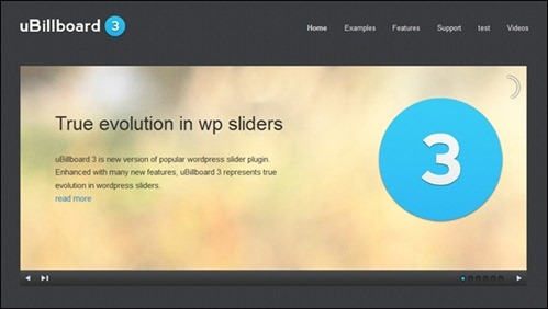 uBillboard - Premium Slider for WordPress