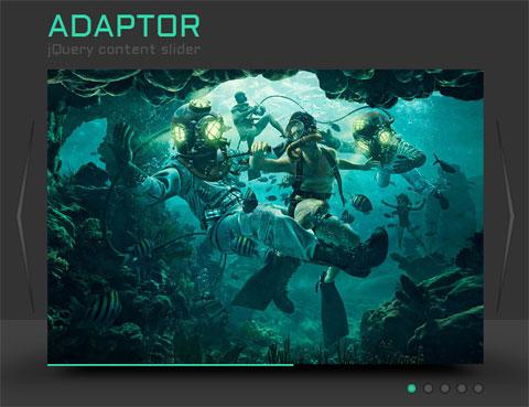 Adaptor - jQuery 3D Image Slider