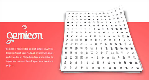 Gemicon Icon Set