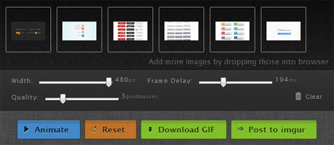 Online Animated GIF Creator