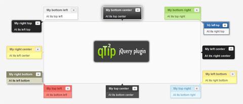 qTip2 - jQuery Tooltip Plugin
