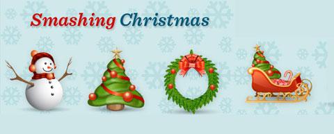 Smashing Christmas Icons