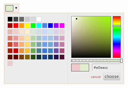 Spectrum - jQuery Colorpicker