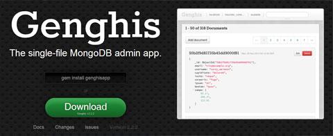 Genghis MongoDB Admin