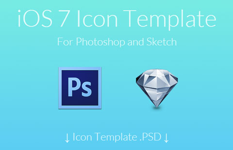 iOS7 Icon Template