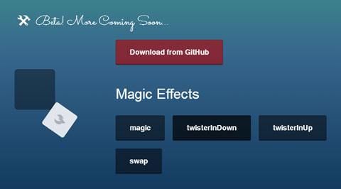 Magic CSS Animations