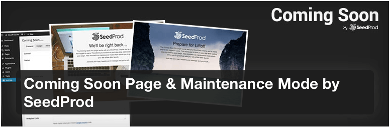 WordPress Coming Soon Page & Maintenance Mode by SeedProd