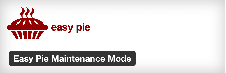 WordPress Easy Pie Maintenance Mode