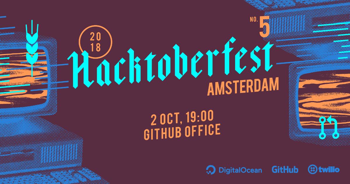Hacktoberfest's 5th year – Amsterdam