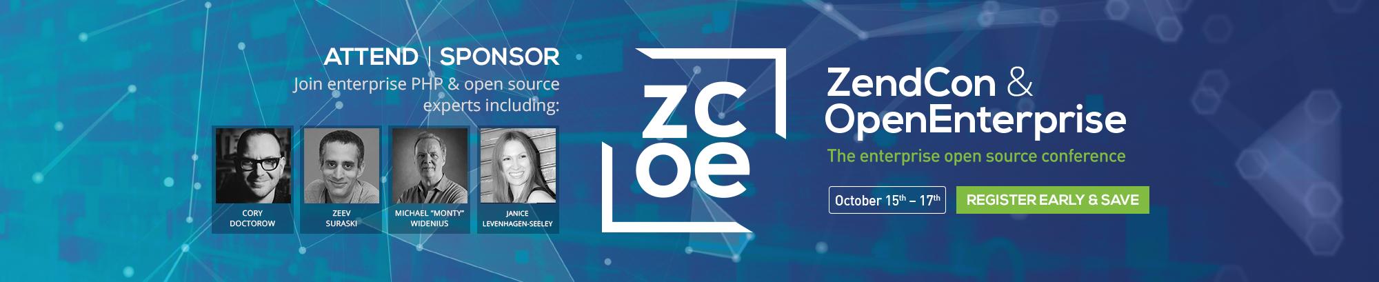 ZendCon & OpenEnterprise