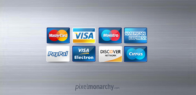 Credit / Debit Card Icons
